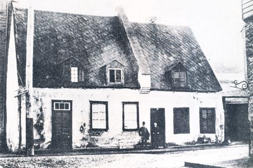 Magazine prestige la vieille maison o mourut montcalm - La maison du hamac quebec ...