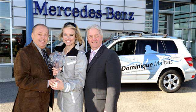 Magazine prestige mercedes benz de qu bec fait quipe for Mercedes benz de quebec