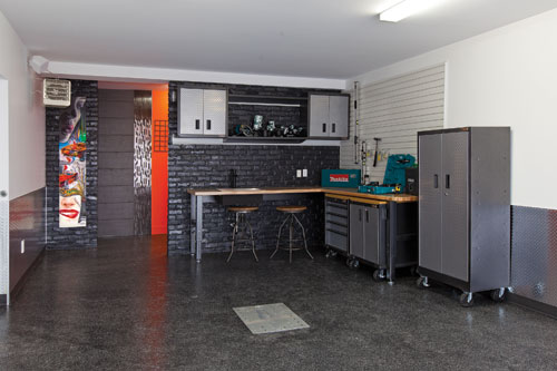 Magazine prestige maison expo habitat 2014 plus for Transformer garage en cuisine