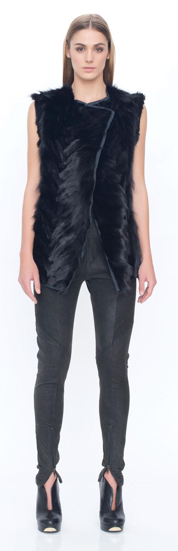 Manteau de vison horizontale 1